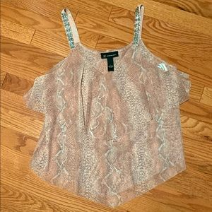 Inc. Top Blush Snake Ombre